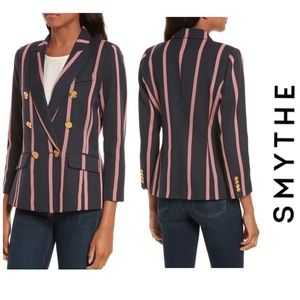 Smythe Mini Double Breasted Blazer Jacket Size 6